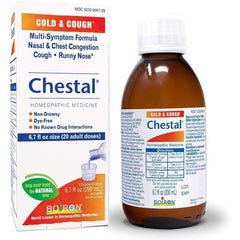 Boiron Chestal Adult Cold and Cough Syrup, 6.7 Fl Oz in one Bottle