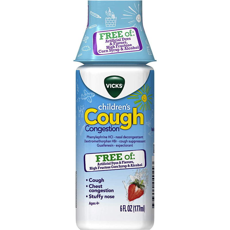 Vicks Children's Cough and Congestion Relief, 6 fl oz