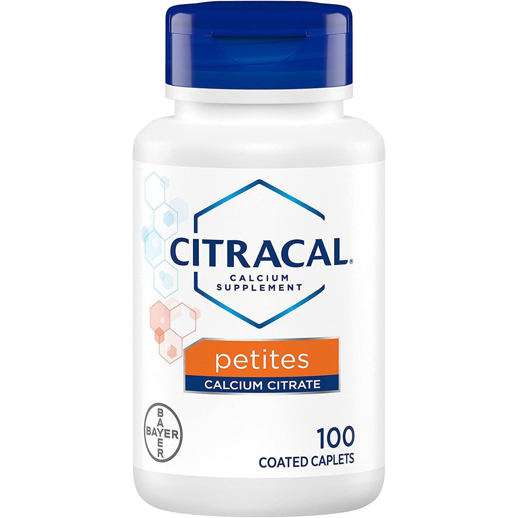 Citracal Petites Tablets with Vitamin D, 100 Tablets