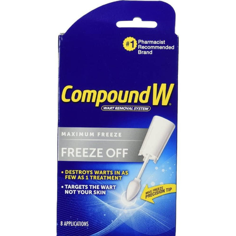 Compound W Freeze Off, 8 Applications