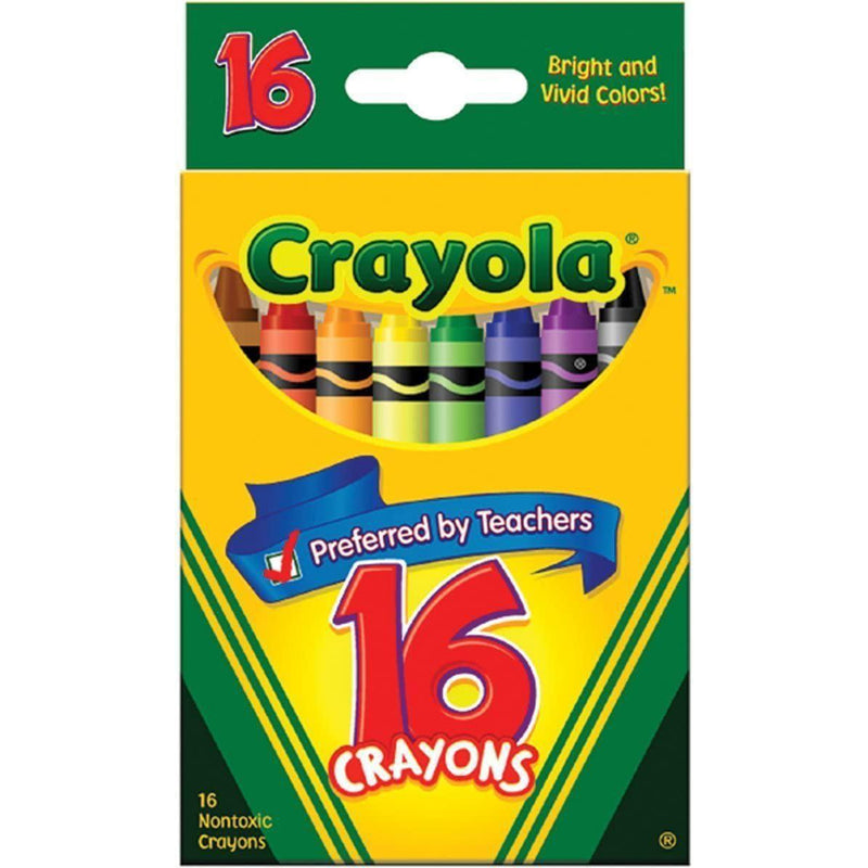 Crayola Classic Color Crayons, 16 Count