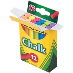 Crayola Colored Chalk, 12 Count