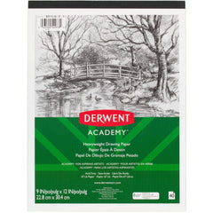 Derwent Academy Drawing Paper Pad, 9