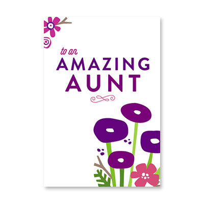 RECYCLED - Amazing Aunt Floral