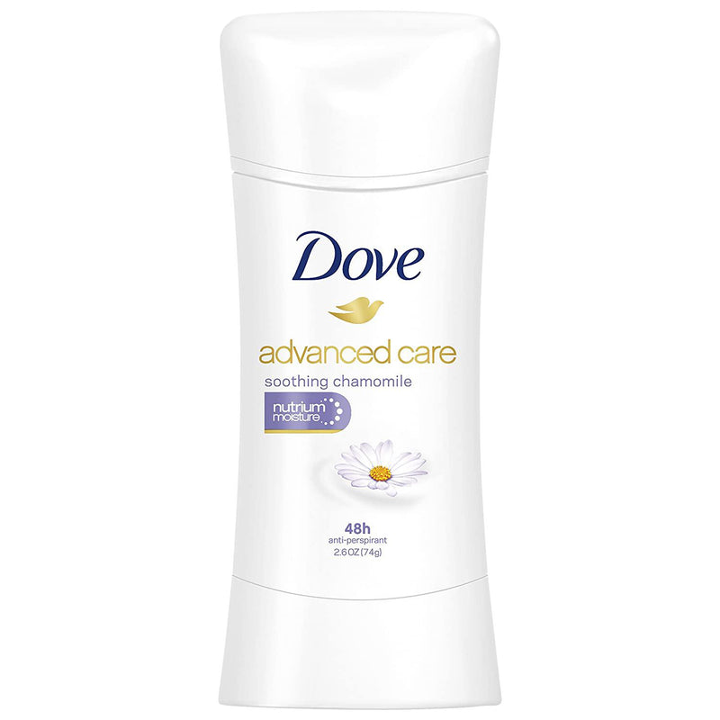 Dove Advanced Care Antiperspirant, Soothing Chamomile - 2.6 oz