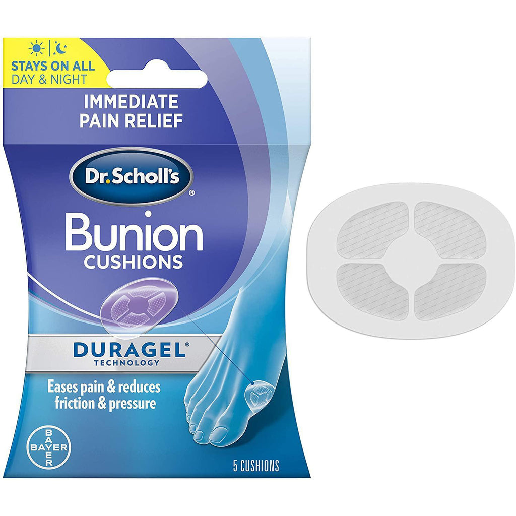 Dr. Scholl's Bunion Cushion with Duragel Technology, 5 Count