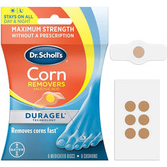 Dr. Scholl's Corn Remover with Duragel Technology, 6 count