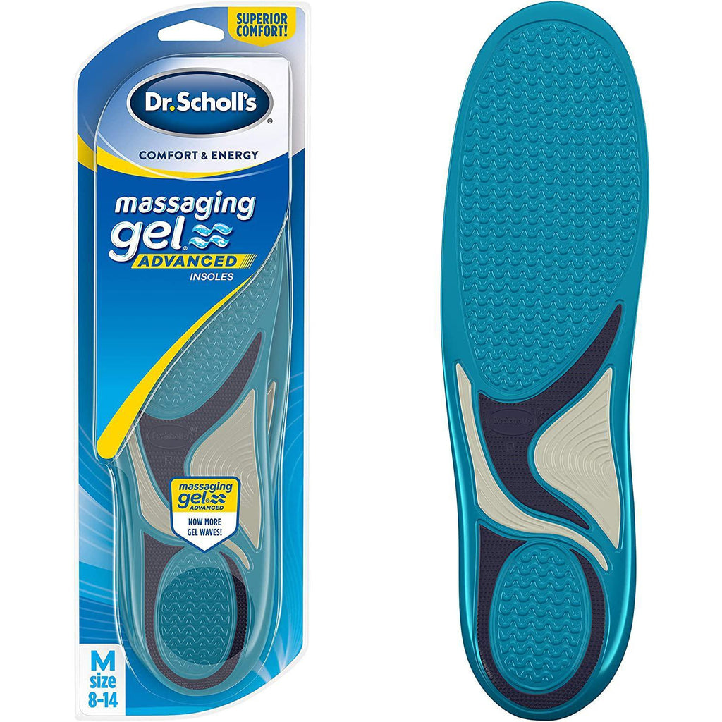 Dr. Scholl's Massaging Gel Advanced Insoles (Men's 8-14), 1 Pair