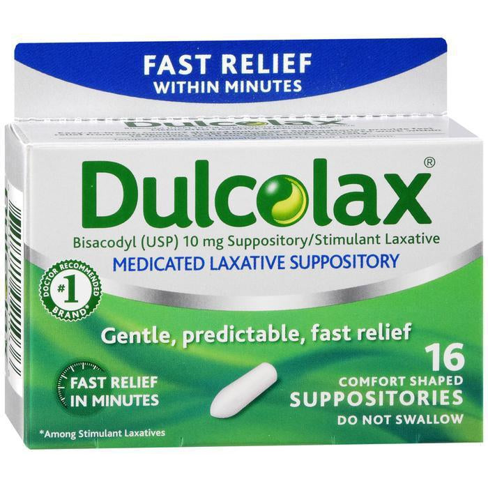 Dulcolax 10mg Suppository - 16 count