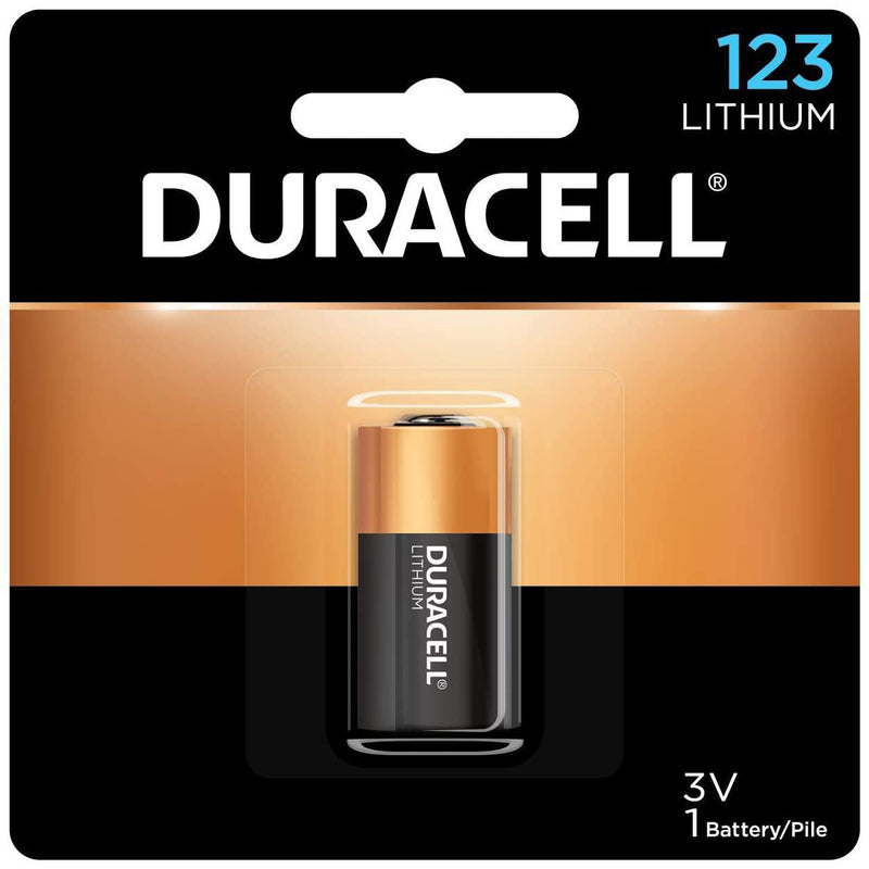 Duracell 123 3V Lithium Photo Battery, 1 Count
