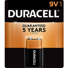 Duracell Coppertop 9V Batteries, Alkaline, 1 Pack