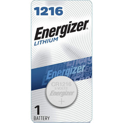 Energizer 1216 Batteries 3V Lithium, 1 Count