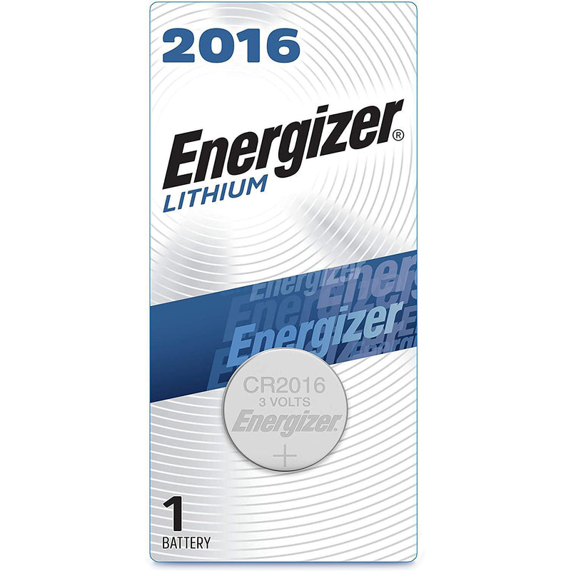 Energizer 2016 Batteries 3V Lithium, 1 Count