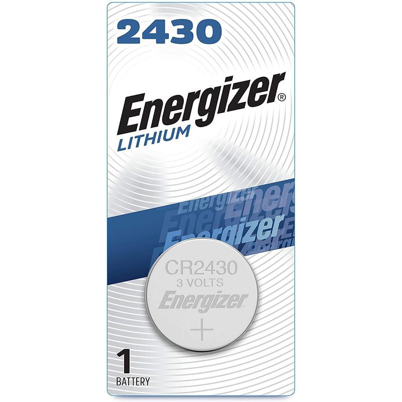 Energizer 2430 Batteries 3V Lithium, 1 Count
