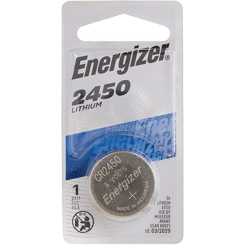 Energizer 2450 Batteries 3V Lithium, 1 Count
