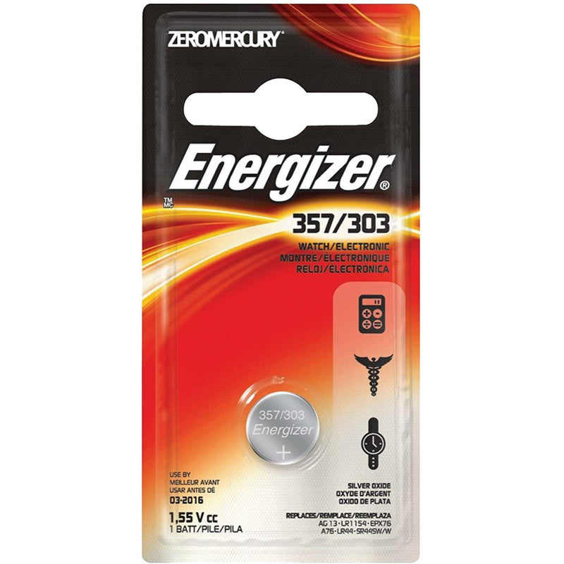 Energizer 357BP Watch Battery, 1 Count