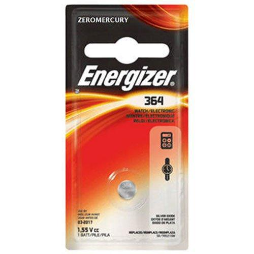 Energizer 364BPZ Watch Battery, 1 Count