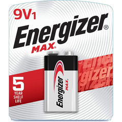 Energizer 9V Batteries, Max Alkaline Batteries, 1 Count