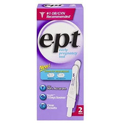 E.p.t Early Pregnancy Test, 2-Count