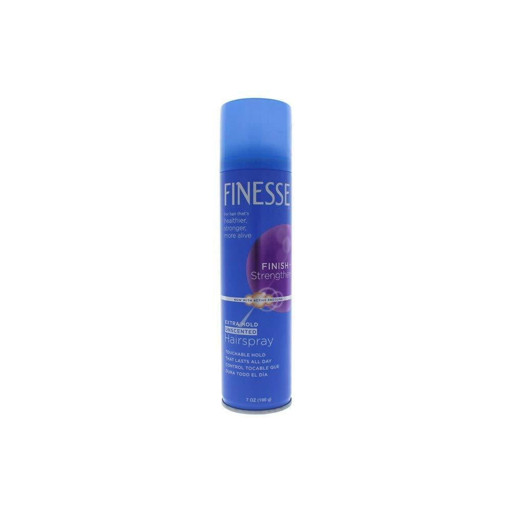 Finesse Extra Hold Unscented Aerosol Hairspray, 7 Oz