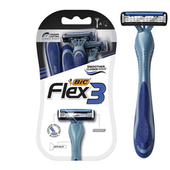 BIC Flex 3 Men's 3-Blade Disposable Razor - 4 Count