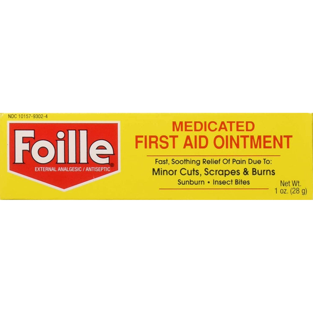 Foille Medicated First-Aid Ointment Tube, 1 Ounce