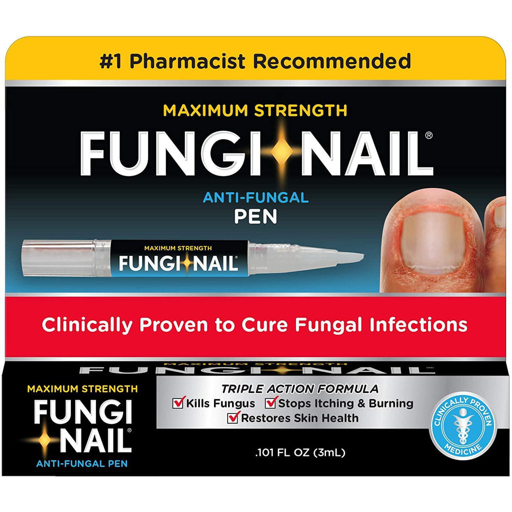 Fungi-Nail Pen Applicator Anti-Fungal Solution, 0.10 Ounce