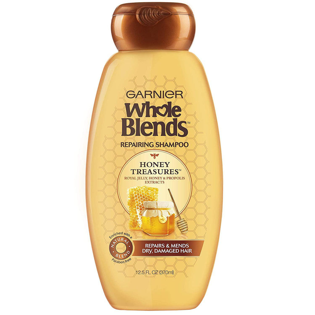 Garnier Whole Blends Repairing Shampoo Honey Treasures, 12.5 Fluid Ounce