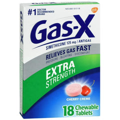 Gas-X Extra Strength Cherry Chewable Tablet - 18 count
