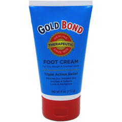 Gold Bond Foot Cream Triple Action Relief, 4 Ounce