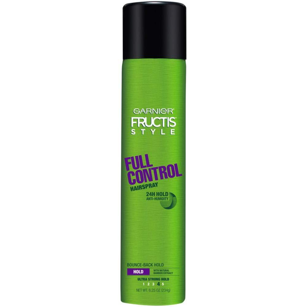 Garnier Fructis Style Full Control Anti-Humidity Hairspray, Ultra Strong Hold, 8.25 oz.