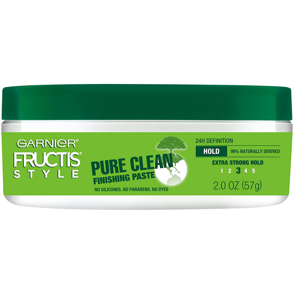 Garnier Fructis Style Pure Clean Finishing Paste for Hair, 2 Ounce Jar