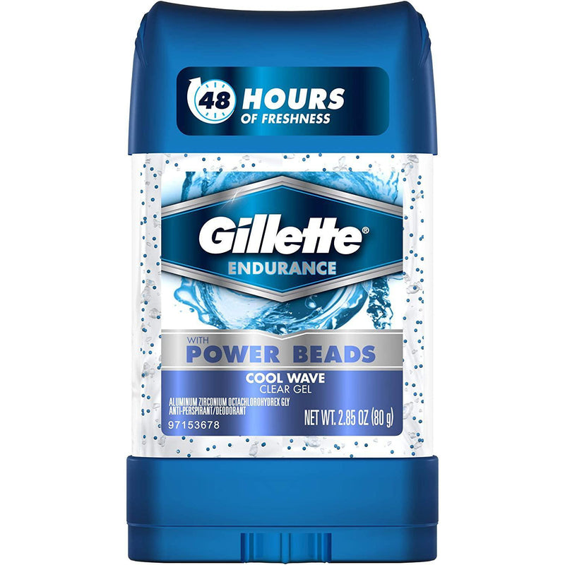 Gillette Power Beads Cool Wave Antiperspirant Deodorant - 3 Oz