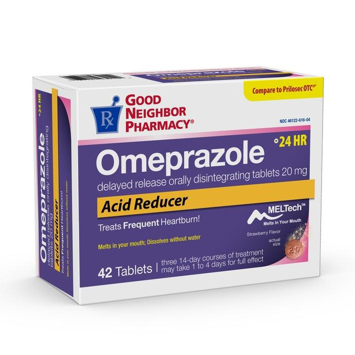 GNP Omeprazole Delayed Release Orally Disintegrating Tablets - 42 count