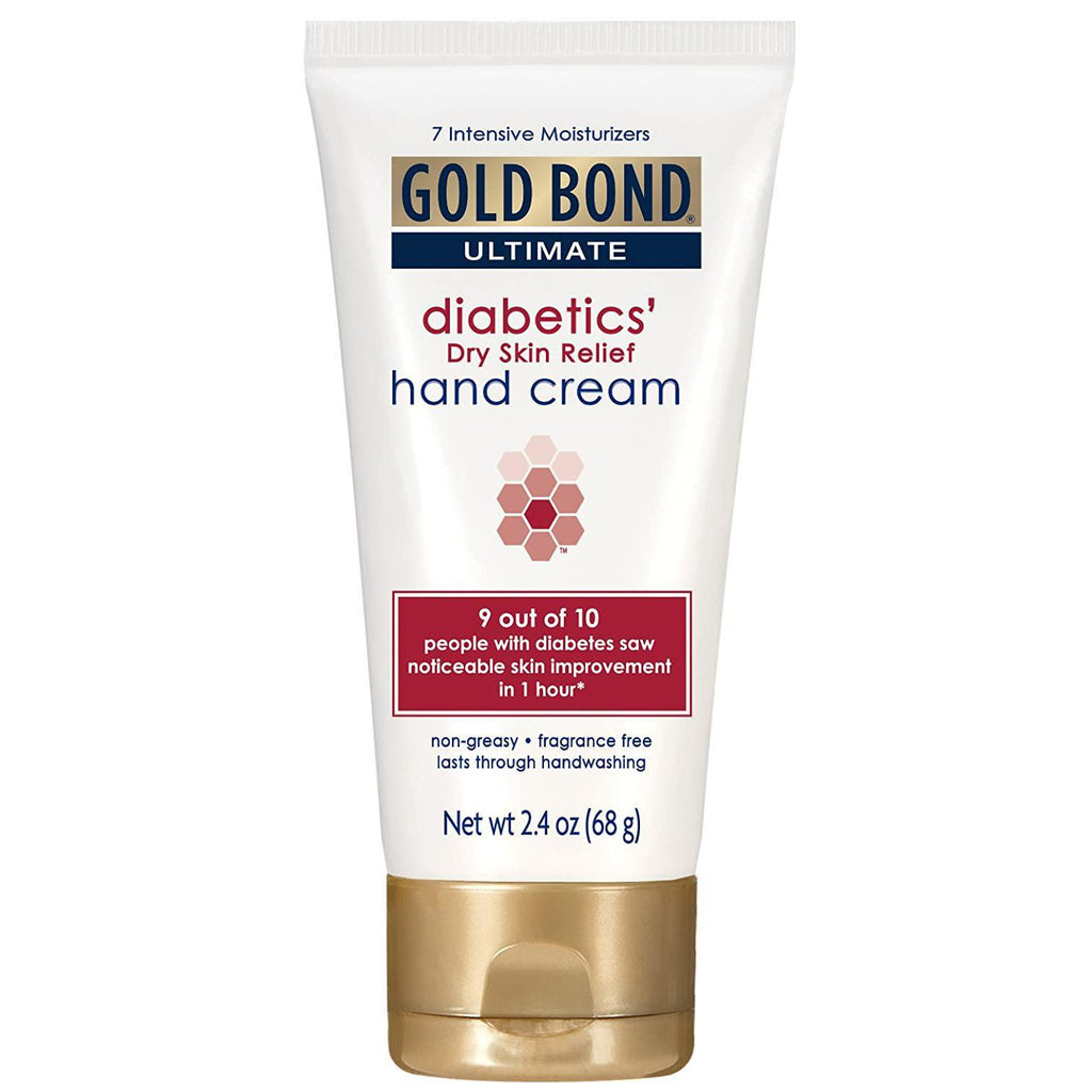 Gold Bond Ultimate Diabetics' Dry Skin Relief Hand Cream - 2.4 oz