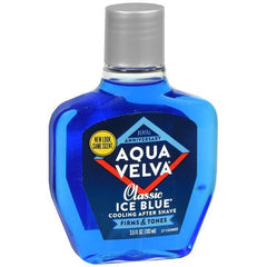 Aqua Velva Mens After Shave, Classic Ice Blue- 3.5 Oz