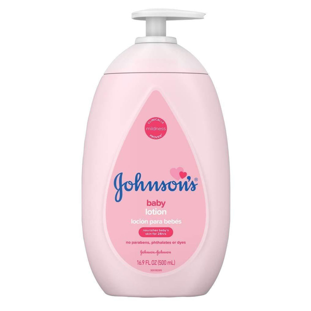 Johnsons Baby Lotion 16.9 Ounce Pump (500ml)