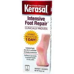 Kerasal Intensive Foot Repair, 1 Ounce
