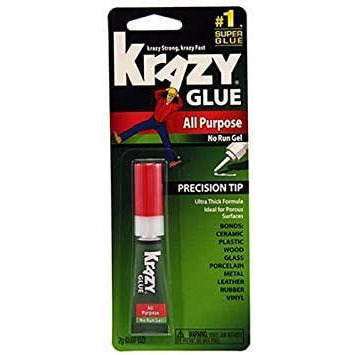 Krazy Glue with All-Purpose Gel, Clear, 0.07 Oz