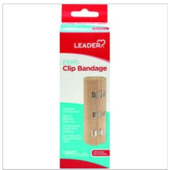 Leader Elastic Bandage Self Adhering 6 in x 5 yd