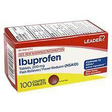 Leader Ibuprofen 200mg Tablets, 100 Count