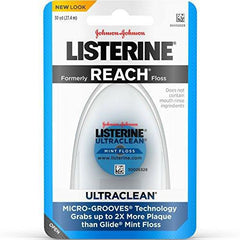 Listerine Ultraclean Dental Floss, Mint-Flavored, 30 Yards