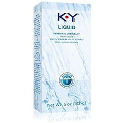 K-Y Liquid Water Based Personal Lubricant, 5 oz (Pack of 2)