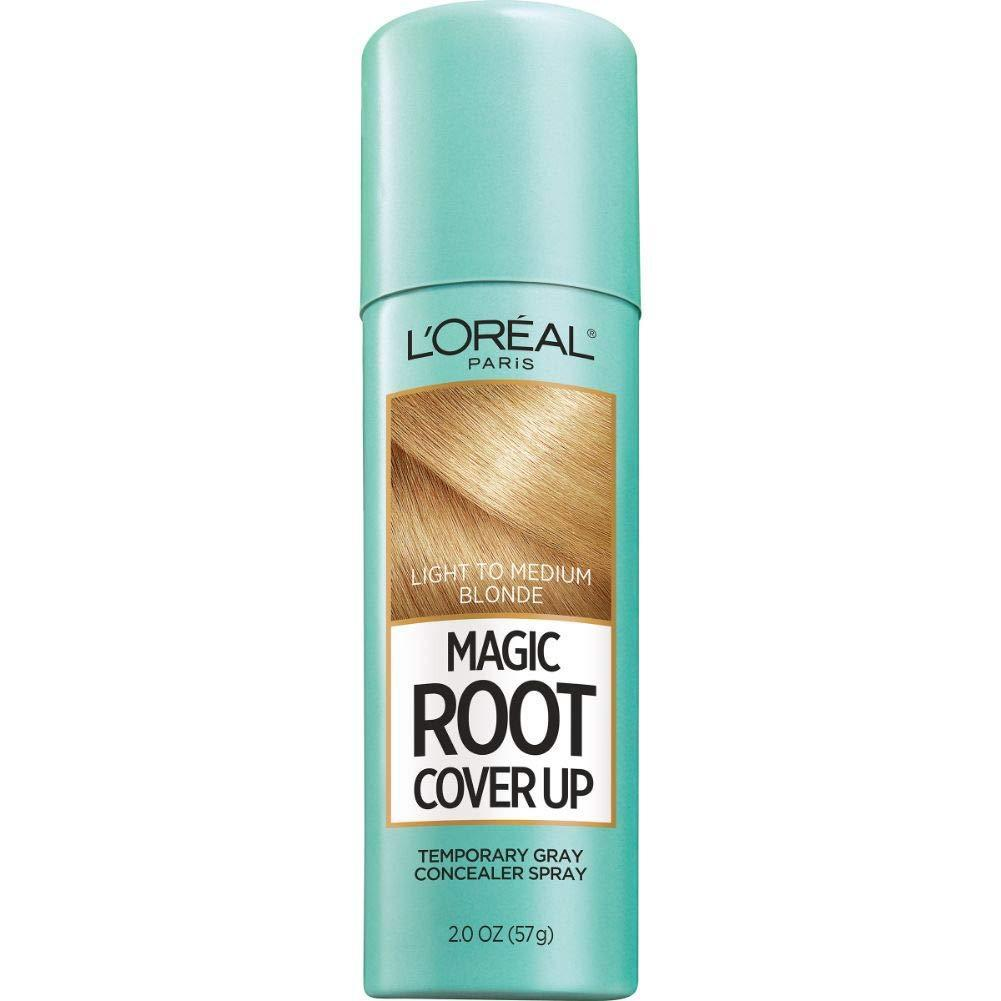 L'Oreal Paris Magic Root Cover Up Gray Concealer Spray Light to Medium Blonde 2 oz, 1 COUNT