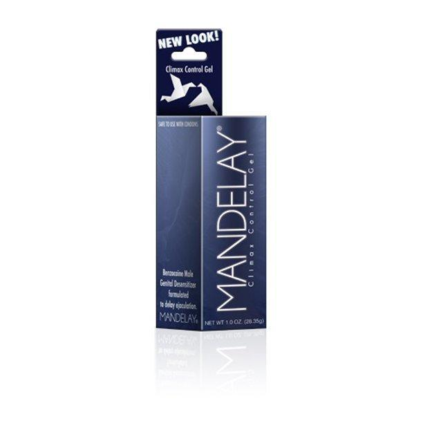 Mandelay Climax Control Duration Gel - 1 Oz