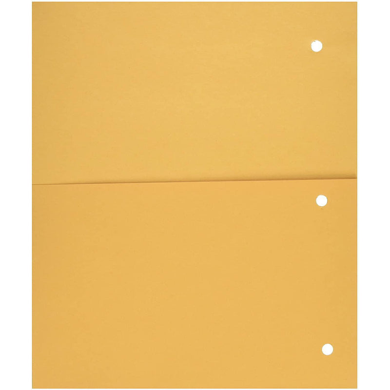 Mead Add-a-Pocket Dividers, Yellow, 8 Pack
