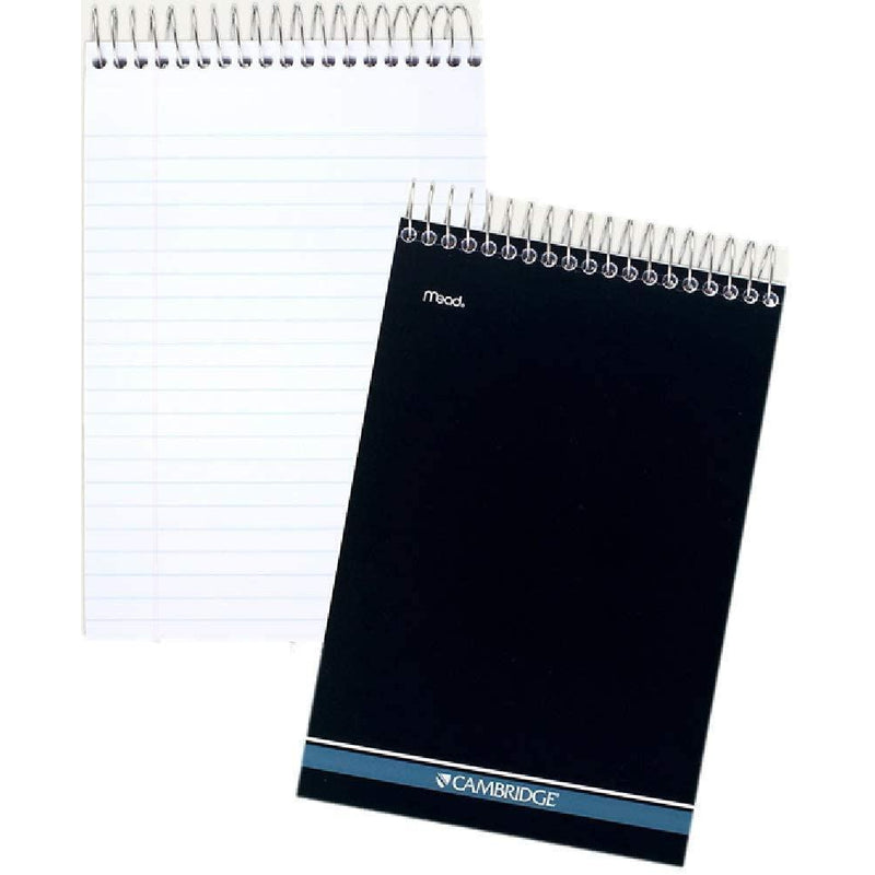 Mead Cambridge Steno Pad, Wirebound, 6 x 9 Inch, 140 Sheets, 1 count