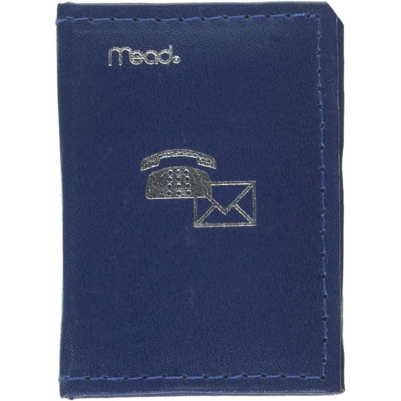 "Mead Telephone/Address Book, 3.25"" X 2.375"", Assorted Colors, 1 Count"