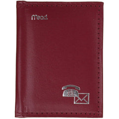 Mead Mini Telephone & Address Book, Assorted Colors, 1 Count