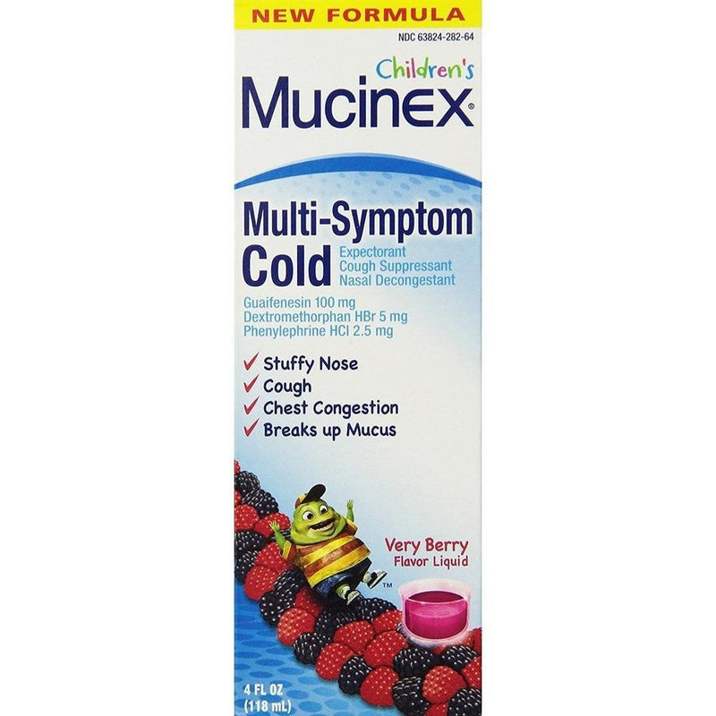 Children's Mucinex Multi-Symptom Cold, 4 fl oz